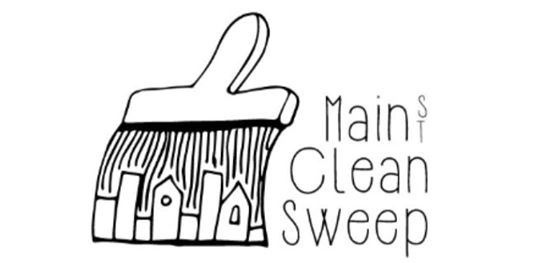 In the Community … Main Street Clean Sweep!