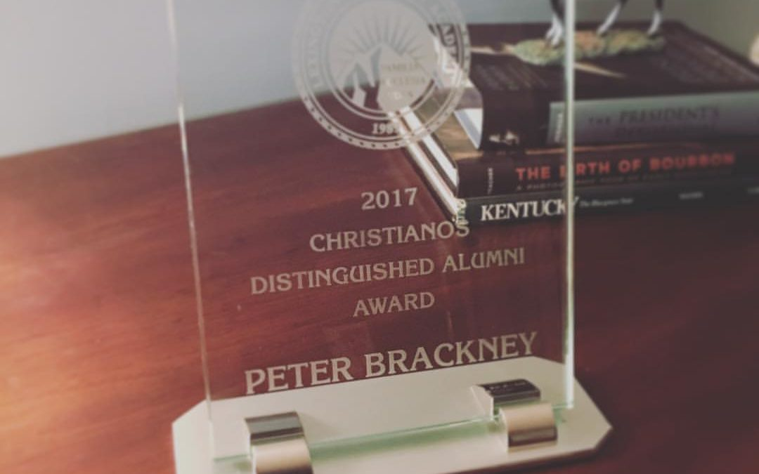 Brackney Receives Distinguished Alumni Award