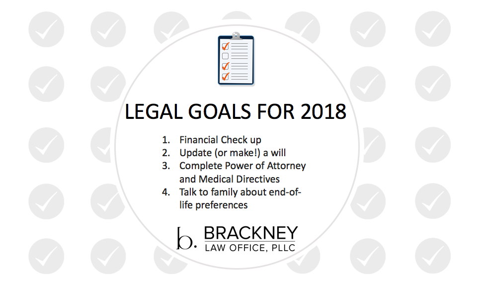 Your 2018 Legal Goals