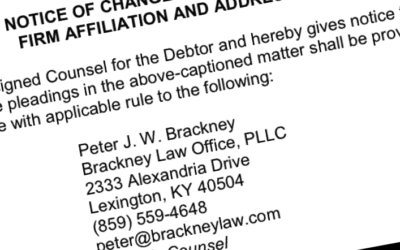 Announcing the Opening of Brackney Law Office, PLLC